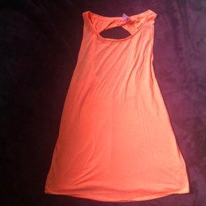 Orange beech cover dress